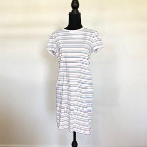 ⭐️ J Crew Striped T Shirt Dress